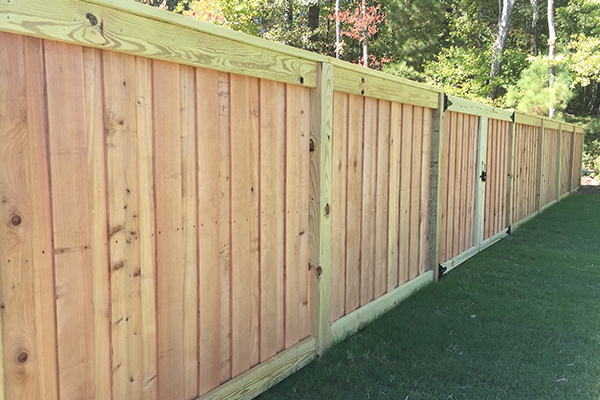 Delicieux Cedar Wood Fence