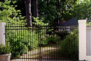 residential iron gate fencing dealer near me