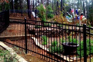 residential iron fencing dealer near me