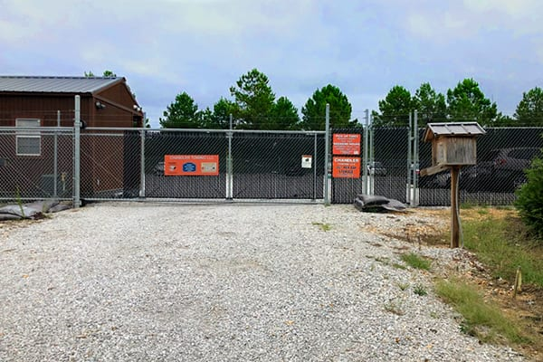 commercial fence and gate