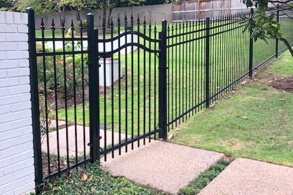 oxford, ms steel fence with gate
