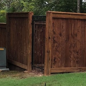 high end fence dealer near me